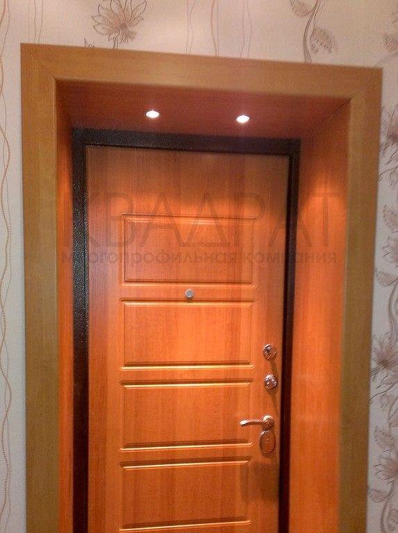 Как сделать портал двери входной